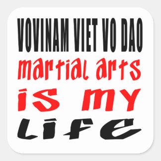 Vovinam Viet vo Dao is my life Stickers