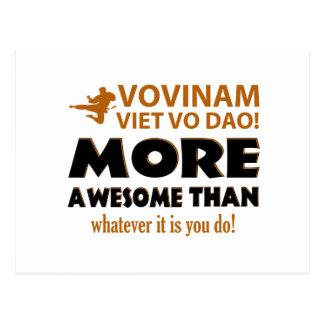 Vovinam Viet Vo Dao Martial arts gift items Postcard