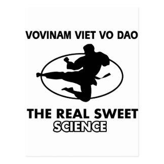 Vovinam Viet Vo Dao  martial arts Postcard