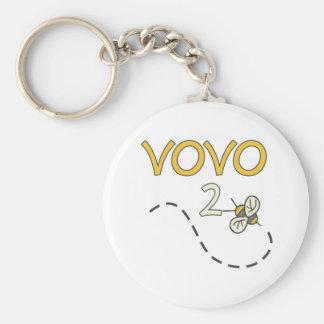 Vovo 2 Bee Keychains