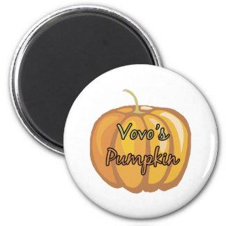 Vovo's Pumpkin Fridge Magnets