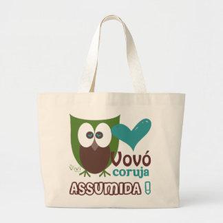 Vovó Coruja Assumida Tote Bag