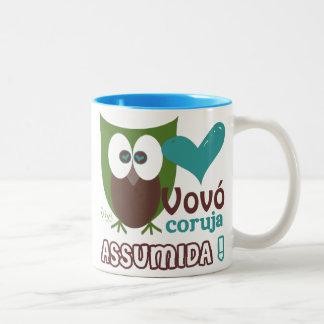 Vovó Coruja Assumida Coffee Mugs