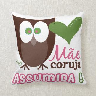 Vovó Coruja Assumida Pillows