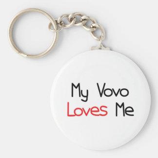 Vovo Loves Me Keychain