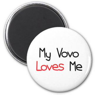 Vovo Loves Me Magnets