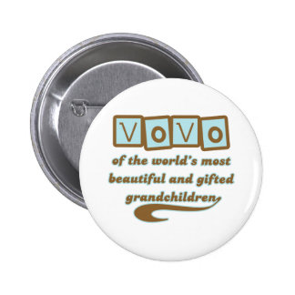Vovo of Gifted Grandchildren Buttons