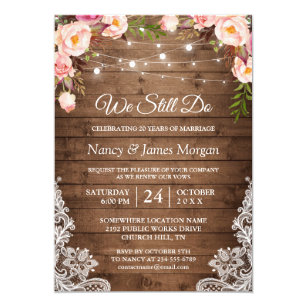 Vow Renewal Invitations Zazzle