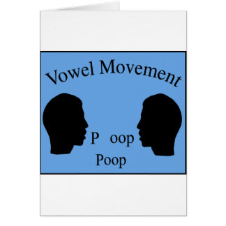 Vowel Movement - Blue Card