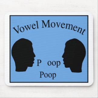 Vowel Movement - Blue Mouse Mats