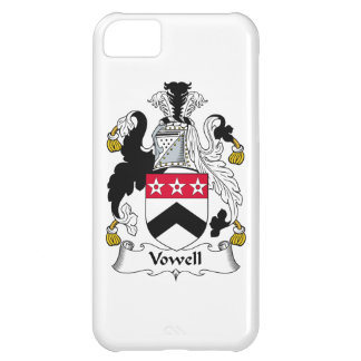 Vowell Family Crest iPhone 5C Cases