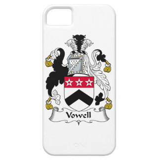 Vowell Family Crest iPhone 5 Cases