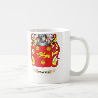 Vowell Family Crest (Coat of Arms) Coffee Mugs