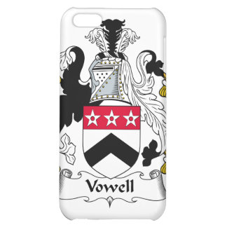 Vowell Family Crest Case For iPhone 5C