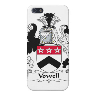 Vowell Family Crest Case For iPhone 5