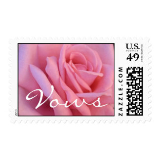 Vows Wedding Postage Stamps
