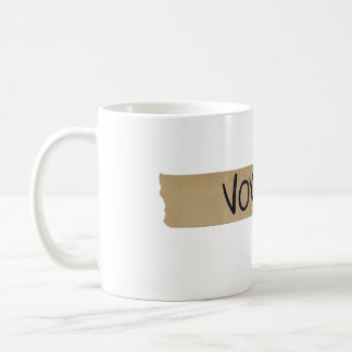 """Vox"" Musician's Sound Board Tape Coffee Mug"