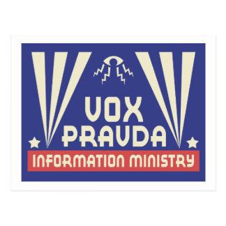 Vox Pravda Postcard