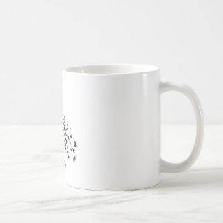 Voxeed Bride Silhouette Black Glitter Coffee Mug