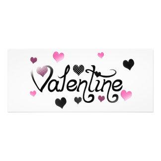 Voxeed Valentine Heart Splash Personalized Invitation