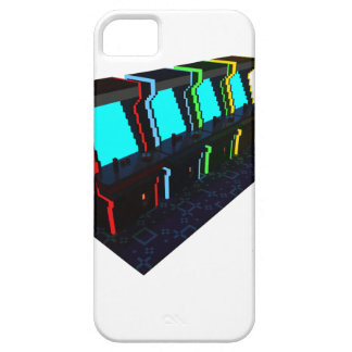 Voxel Art of Some Arcade Games iPhone SE/5/5s Case
