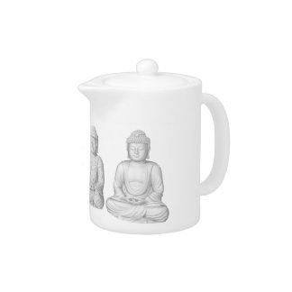 Voxel Buddha Teapot