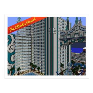 VoxelPostcard: The Atlantis Resourt Postcard