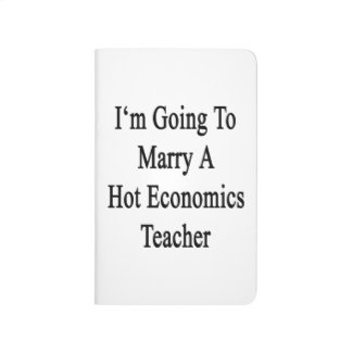 Voy a casar a un profesor caliente de la economía cuaderno