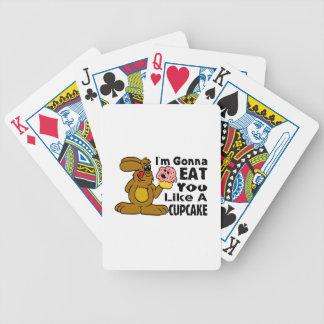Voy a comerle tengo gusto de una magdalena cartas de juego