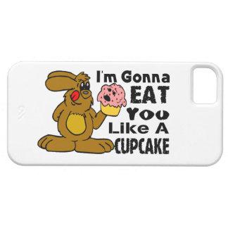 Voy a comerle tengo gusto de una magdalena iPhone 5 carcasa