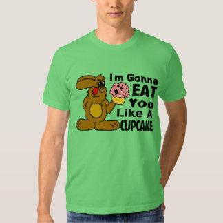 Voy a comerle tengo gusto de una magdalena remera