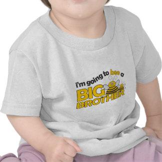 Voy a la ABEJA una camiseta de hermano mayor