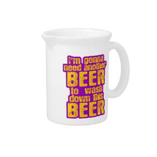 Voy a necesitar otra cerveza jarra
