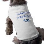 Voy a ser un hermano mayor camisa de perrito