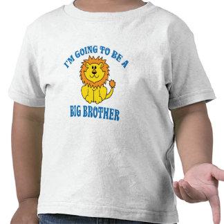 Voy a ser un hermano mayor camiseta