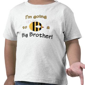Voy a ser un hermano mayor - diseño lindo de la camisetas