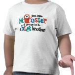 ¡Voy a ser un hermano mayor! Monstruo Camiseta