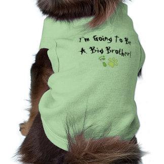 ¡Voy a ser un hermano mayor! Camiseta De Mascota