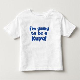 Voy a ser un Kuya (hermano mayor) Playera De Niño