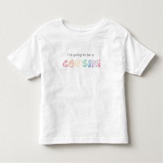 ¡Voy a ser un PRIMO! Camiseta Playeras