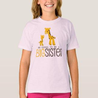 Voy a ser una camisa de la hermana grande