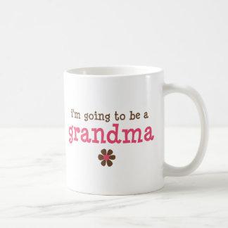 Voy a ser una camiseta de la abuela tazas de café