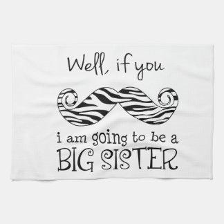 Voy a ser una hermana grande toallas