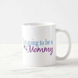 Voy a ser una mamá tazas de café
