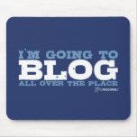 Voy al blog por todas partes (LiveJournal) Mouse Pad