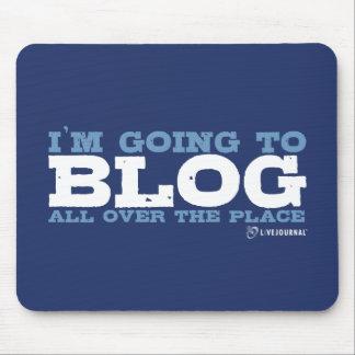 Voy al blog por todas partes (LiveJournal) Alfombrilla De Ratón