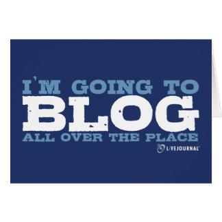Voy al blog por todas partes (LiveJournal) Felicitaciones