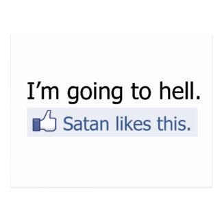 Voy al infierno postal