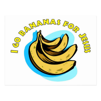 Voy los plátanos para el cristiano de Jesús Postal