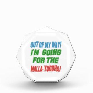 Voy para el Malla-yuddha.